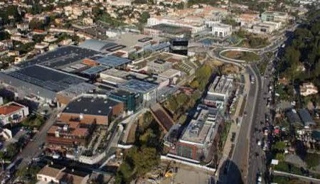centre commercial et de loisirs de Cagnes-sur-Mer appelé «Polygone Riviera»