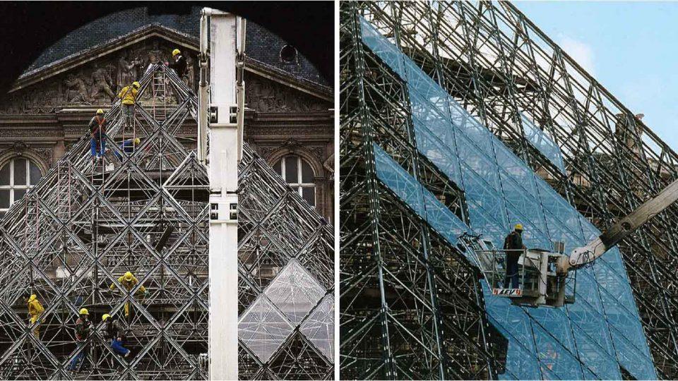 Pyramide du Louvre - 01