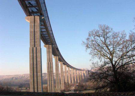 Les viaducs de la Risle et du Bec, ouvrages de l'A28 situés entre Alençon et Rouen