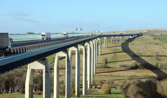 Viaducs du Boulonnais» ensemble constitué du viaduc d'Echingen et du viaduc de Quéhen.